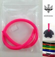 PINK Fly Racing Vent Hose Tube Fuel Cap Breather Dirtbike 4 Wheeler KTM GAS GAS