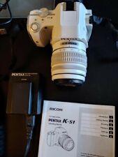 PENTAX Pentax K K-S1 20.1 MP Digital SLR Camera - White (Kit w/ DA L 18-55mm...