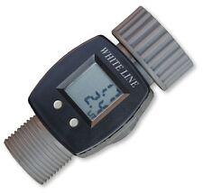 Digitaler Wasserzähler LCD für den Garten Wasserverbrauch Wasseruhr Messgerät
