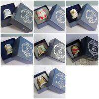 Sutherland Thimble Collectors Club TCC Vintage Porcelain Bone China Christmas