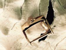 Vintage ROLEX 18mm. Buckle Steel Marked: ACIERINOX ROLEX in Rose Plated.