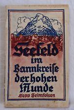 S. Heimfelsen - Seefeld im Bannkreise der hohen Munde - 1927 (R)