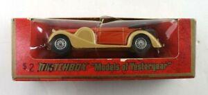 Vintage 1973 Matchbox Models of Yesteryear Y-11 1938 Lagonda Coupe Diecast Car