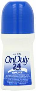 Avon On Duty 24H Sport Roll On Antiperspirant Deodorant 2.6 fl oz