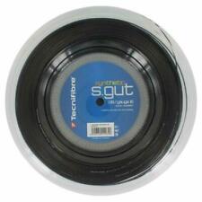 Tecnifibre Synthetic Gut 1.30mm (black) 200m Reel Tennis String