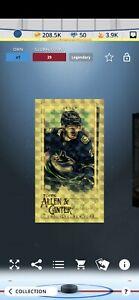 Topps NHL Skate - Jimmy Vesey - Allen & Ginter Refract LEGENDARY (Digital)