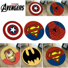 Superhero Carpet Non Slip Floor Rug Avengers Mats Bedroom Marvel Pad Home Kids
