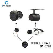 2 Way Usage Waterproof Color CCD Reverse Backup Car Rearview Camera Night Vision