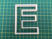 Alphabet Letter E cookie cutter