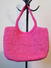 COLDWATER CREEK LARGE TOTE - HOT PINK - NWOT