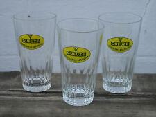 Louis & Emile de Coster 4 verres à bière gueuze