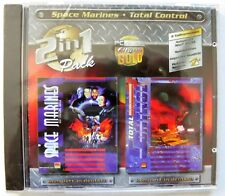 Space Marine del + Total Control. PC-Giochi Classic Windows 95/98 ORIGINALE CD NUOVO