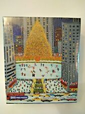 Briarpatch Rockefeller Center Holiday Puzzle 500 pc * NEW SEALED!
