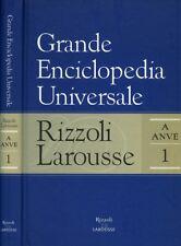 * GRANDE ENCICLOPEDIA UNIVERSALE VOL.I.A/ANVE.RIZZOLI LAROUSSE.2007 CARTONATO!!*