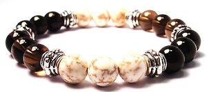 HEADACHE & MIGRAINE RELIEF 8mm Crystal Intention Bracelet w/Description Card