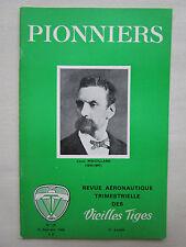 REVUE PIONNIERS AERONAUTIQUE N°19 LOUIS MOUILLARD ALFRED FRIEDRICH ROLAND GARROS