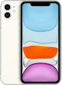 Apple iPhone 11 64GB 12MP 4G Dual Sim White Sim Free Unlocked