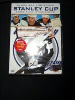 TAMPA BAY LIGHTNING Stanley Cup 2003-2004 Champions DVD - Sealed/New Bonus