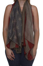 American Flag USA Flag Scarf, Army Green