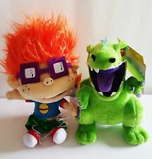 Nicktoons Rugrats Chuckie & Reptar Plush Toys Nickelodeon's 2012 Dinosaur NWT