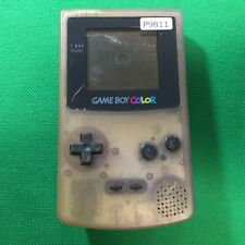 P9811 Nintendo Gameboy Color console Clear Purple Japan GBC Express x