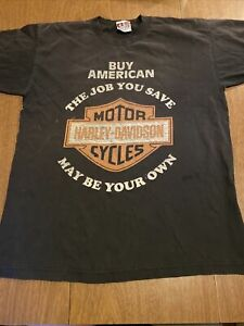 vintage Harley Davidson t-shirt  80s/90s HD buy American Harley shirt top