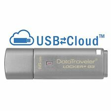 Kingston DataTraveler Locker + G3 16gb USB 3.0 MEMORIA FLASH PEN DRIVE