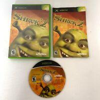 Shrek 2 - Original Xbox Game - Complete With Manual CIB Tested