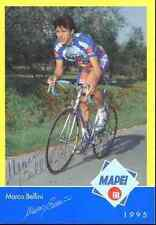 MARCO BELLINI Team MAPEI GB COLNAGO Signed Autographe cycling dédicace cycliste