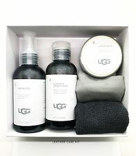UGG Leather Care Kit Shoe Renew Protector Cleaner & Conditioner + Balm + Cloth