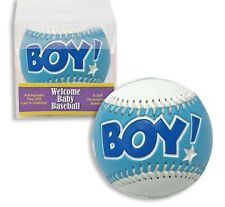 It's a Boy Baseball - For Baby Shower Gift or Keepsake