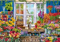 Wentworth Wooden Jigsaw Puzzle - Flower Shop - 250 Pieces NEW