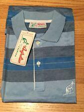 NOS 80s Australian by L'Alpina Tennis Shirt Fila Sergio Tacchini Sz46 Italy