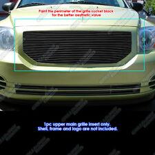 Fits 2006-2012 Dodge Caliber Black Billet Grille Grill Insert