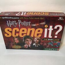 Harry Potter Scene It 1st Edition (2005) by Mattel Pewter Pieces DVD Movie Clips