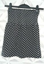 EVIE POLKA DOT EVENING BANDEAU TOP SIZE UK 6 to 8 -  E3
