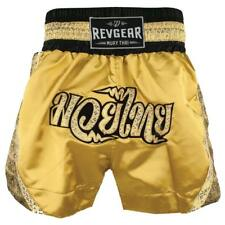 Revgear - Women's Apsara Thai Shorts - Muay Thai - Gold - Size XX Small