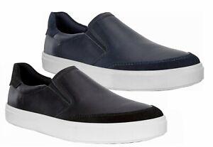 ECCO KYLE Men's Lightweight Casual Slip on Comfort Leather Sneaker 531174