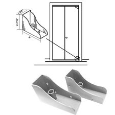 Closet Door Savers Bi-Fold Closet Door Pivot Pin Repair Kit - White