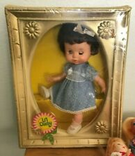 Vintage 13 Doll Collection- 1960'S, Lil' Daisy Doll W/ Box, Lrg/Sm Dolls, Stand