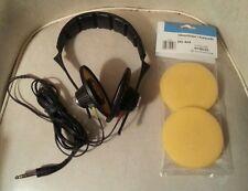 Sennheiser HD424 Headphones  new cushions vintage classic Germany HD 424