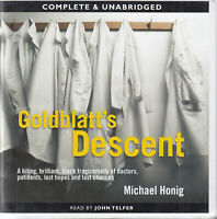 Michael Honig Goldblatt's Descent 14CD Audio Book Unabridged Doctors Comedy
