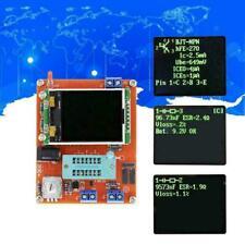 Tft Lcd Gm328 Transistor Tester Diode Lcr Esr Meter Y Wave Square Generator P2r9