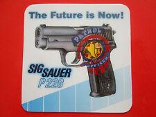 AUTOCOLLANT STICKER AUFKLEBER SIG SAUER P228 PISTOLET AUTOMATIQUE PISTOL GUN