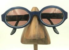 Vintage Vogue VO2168-S W902 Blue Oval Oversized Sunglasses Frames Italy