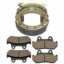 Front Brake Pads & Rear Shoes Fits HONDA GL500 GL500I Silver Wing 500 1981 1982