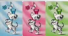 GENUINE SWAP PLAYING CARDS - 3 SINGLE - DOGS - #17