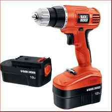 Black & Decker GCO18-2WM New 18 Volt Ni-Cad Drill/Driver Tool with 2 Batteries