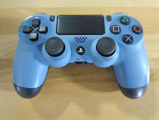 Genuine Sony Playstation PS4 Dualshock 4 Controller Uncharted 4 Blue/Gray - VG