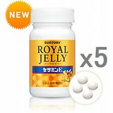 New! Lot5! Suntory Royal Jelly, 120tablets(30day)x5=150days, Free shipping